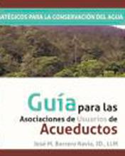 Jose María Borrero hace la redacción de una guía para las asociaciones de usuarios de acueductos